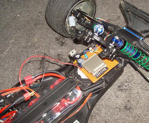 car with speedo